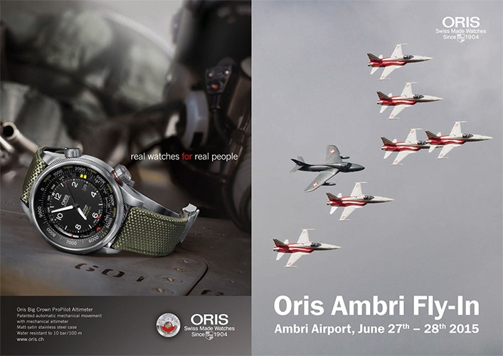 Oris Ambri Fly-In 2015