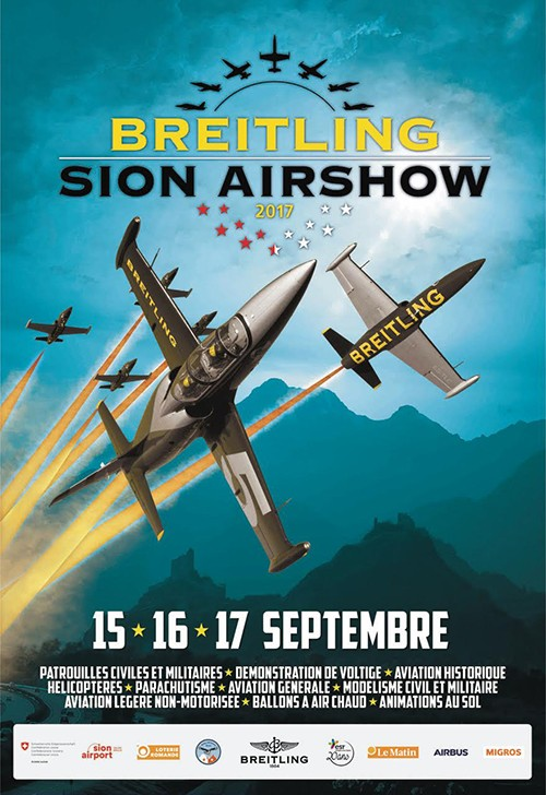 Breitling Sion Airshow